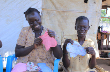 How Making Reusable Pads Is Helping Women In Bidibidi